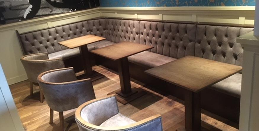 Reupholstery Edinburgh For A Restaurant Or Bar Red Hot World